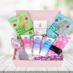 peppermint pedicure foot care gift box