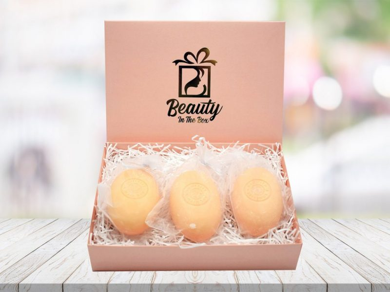 Poached Pear Soaps In A Gift Box