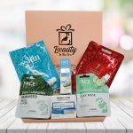 face pamper box gift for her