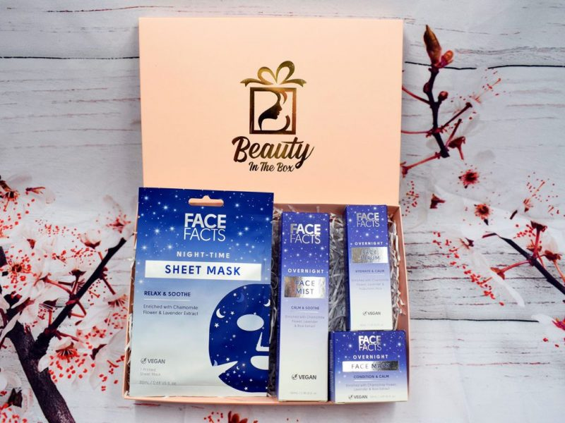 Overnight Relax & Soothe Face Pamper Box
